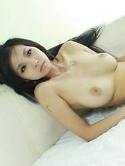Cute Chinese girl with nice big boobies