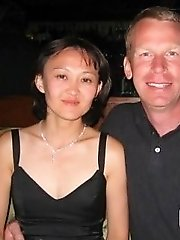 Super hardcore Asian milf with white hubby