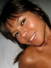 Very tanned Singaporean girl loves to be known as Little Chili