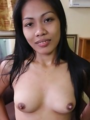 Filipina streetwalker sucks a mean dick and gets creampied