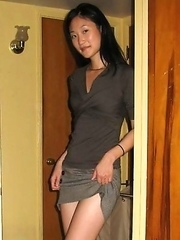 Asian girlfriends getting naughty on cam